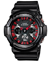 Picture of CASIO G-SHOCK GA-200SH-1A   Limited Color