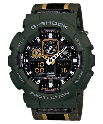 Picture of CASIO G-SHOCK   GA-100MC-3A