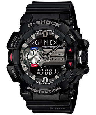 Picture of CASIO G-SHOCK G'MIX  GBA-400-1ADR
