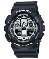 Picture of CASIO G-SHOCK  GA-100BW-1A
