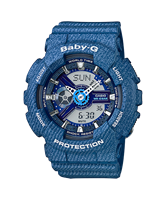 Picture of CASIO  BABY-G  BA-110DC-2A2