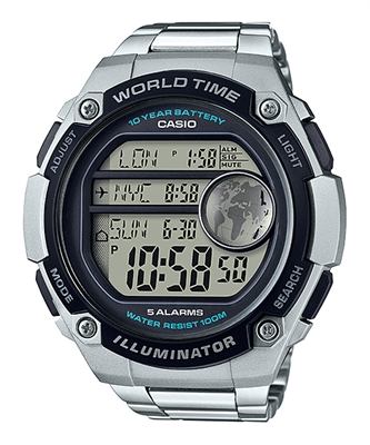 Picture of CASIO AE-3000WD-1A แบต 10 ปี