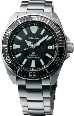 Picture of SEIKO AUTOMATIC  Samurai   SRPB51K สีดำ
