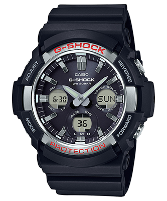 Picture of CASIO G-SHOCK SOLAR GAS-100-1A