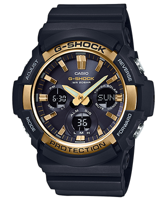 Picture of CASIO G-SHOCK  SOLAR GAS-100G-1A