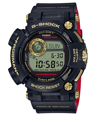 Picture of CASIO G-SHOCK FROGMAN LIimited 35 Years GWF-D1035B-1