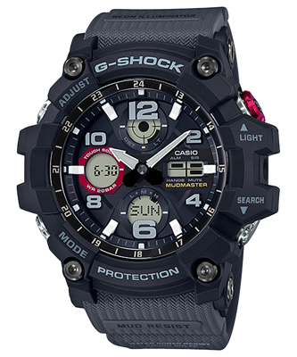 Picture of CASIO G-SHOCK GSG-100-1A8 สีเทา