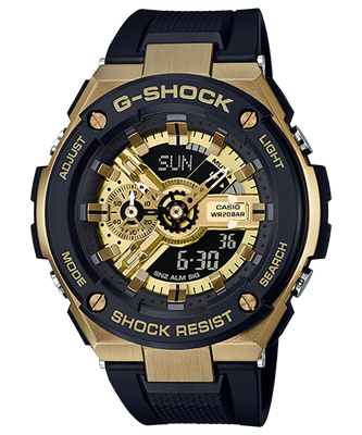 Picture of G-SHOCK , BABY-G  Love   GST-400G-1A9  & MSG-400G-1A2