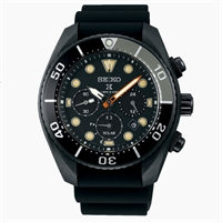 Picture of SEIKO Prospex Black Series Chronograph SSC761J Solar Diver Limited Edition 3500 Pcs