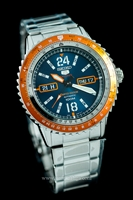 Picture of SEIKO AUTOMATIC SPORT 5  AVIATOR  SRP381P1  Limited edition