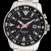 Picture of SEIKO Kinetic GMT SUN015P1