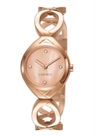 Picture of ESPRIT นาฬิกาขอมือสุภาพสตรี   ES108072003 สีพิงค์โกลด์