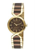 Picture of ESPRIT นาฬิกาขอมือสุภาพสตรี   ES107852004 - สีน้ำตาล