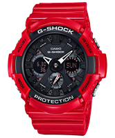 Picture of CASIO G-SHOCK   GA-201RD-4A  Limited Edition