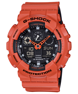 Picture of CASIO G-SHOCK   GA-100L-4A   SPECIAL COLOR